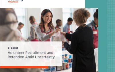 New eToolkit on Recruiting and Retaining Volunteers Amid Uncertainty